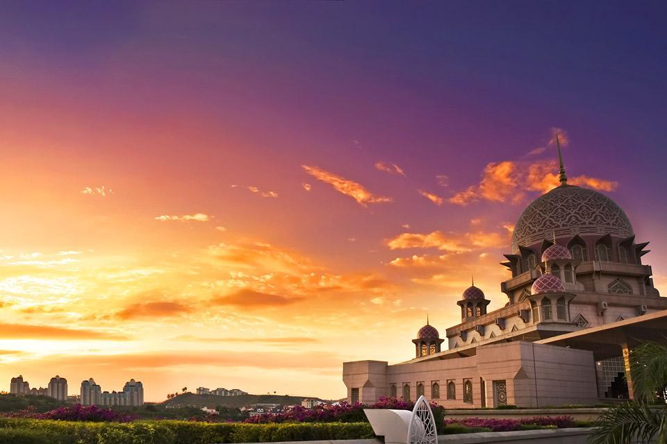 Putra Mosque , La salle de prière , Malaisie