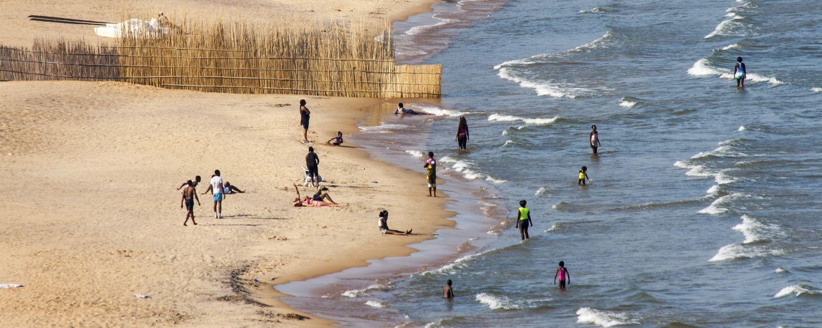 Les côtes, Malawi Lac afrique senga bay plage