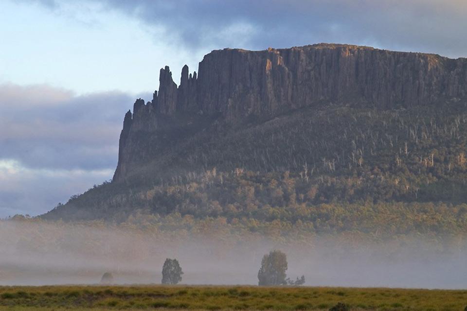 La Tasmanie , Le mont Ossa , Australie