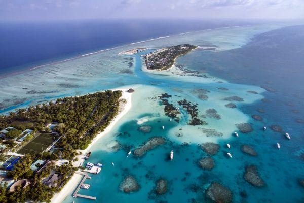 Ari Atoll - Island of Vilamendoo, Ari Atoll - Vilamendhoo Island, Landscapes, The Maldives