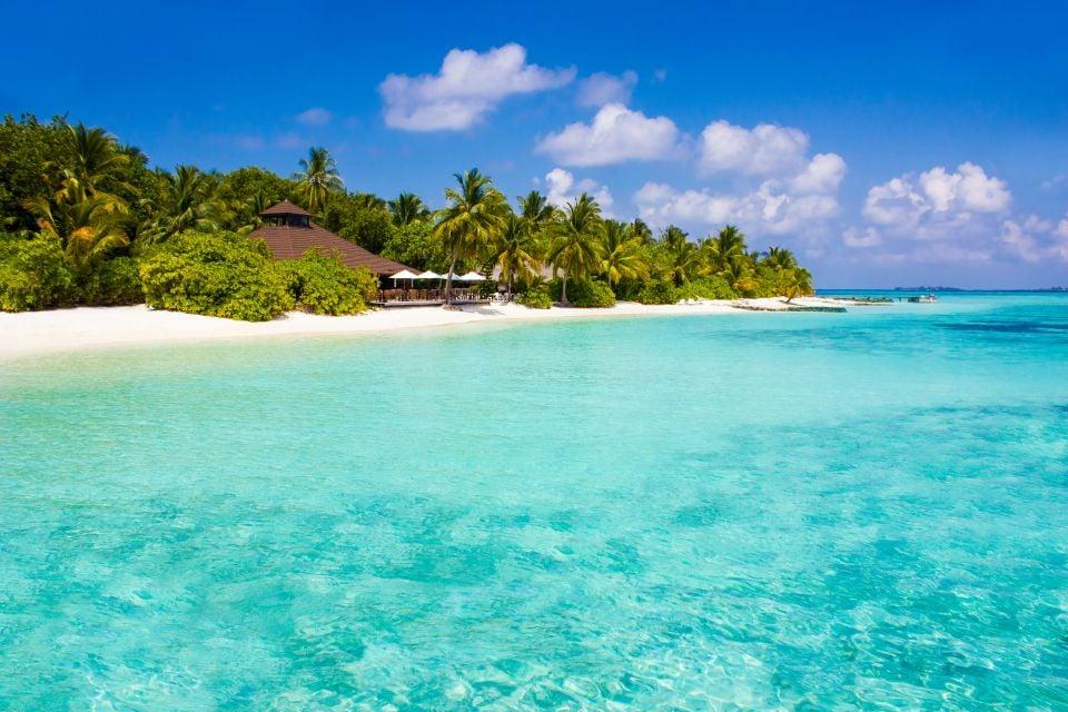 Spiagge paradisiache, Atollo di Ari - L'isola di Vilamendhoo, I paesaggi, Maldive