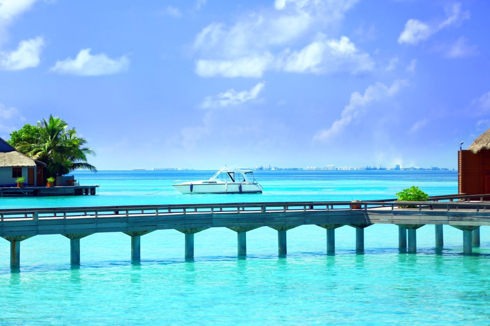 , Atolón de North Malé - La isla de Baros, Las costas, Maldivas
