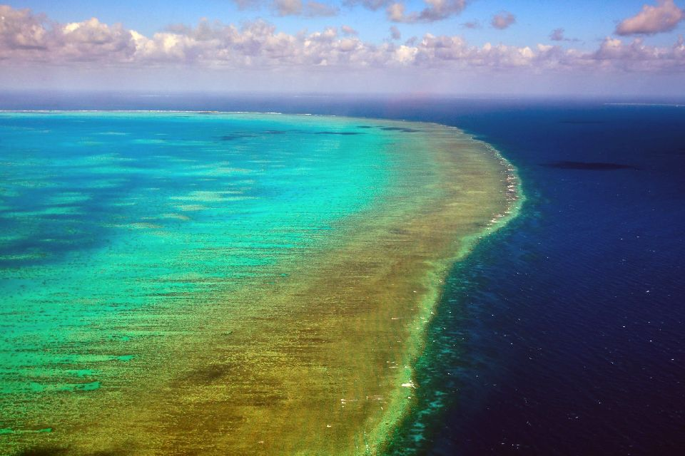 The Great Barrier Reef , A 1616 mile long reef , Australia