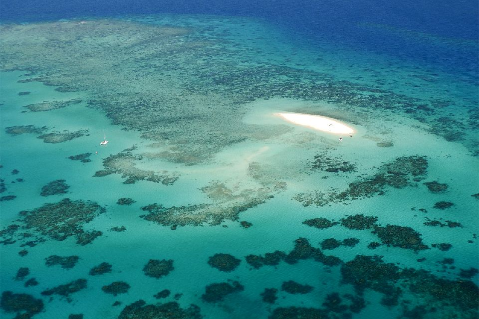 The Great Barrier Reef , James Cook's discovery , Australia