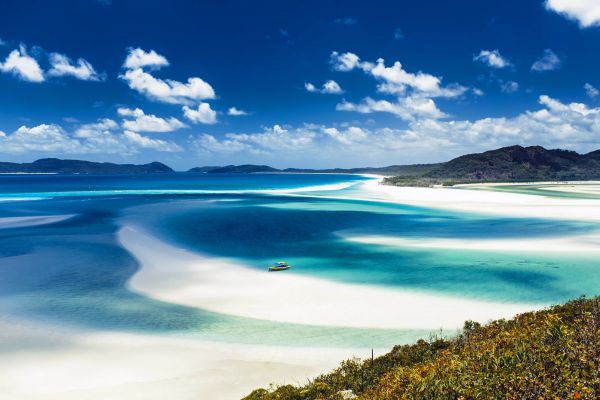 The Whitsunday archipelago , The Whitsunday Islands , Australia