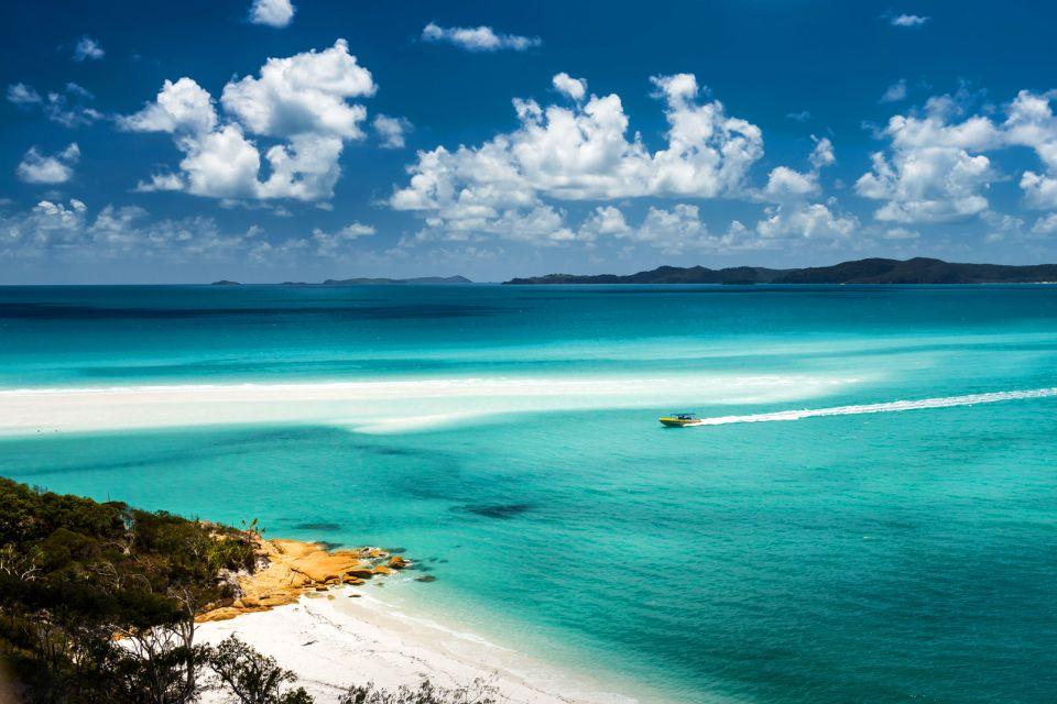 L'archipel des Whitsundays , L'emplacement des Whitsunday , Australie