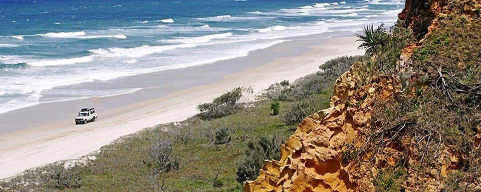 Vol Fraser Island Cairns
