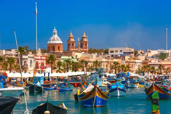 Malta's ports, The Island of Malta, Landscapes, Malta