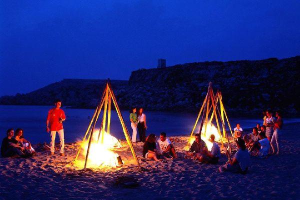 The Island of Malta , Malta by night , Malta