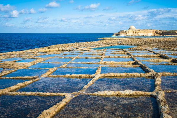 La isla de Gozo, Los paisajes, Malta