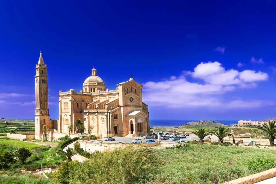 Church of St. John the Baptist, The Island of Gozo, Landscapes, Malta