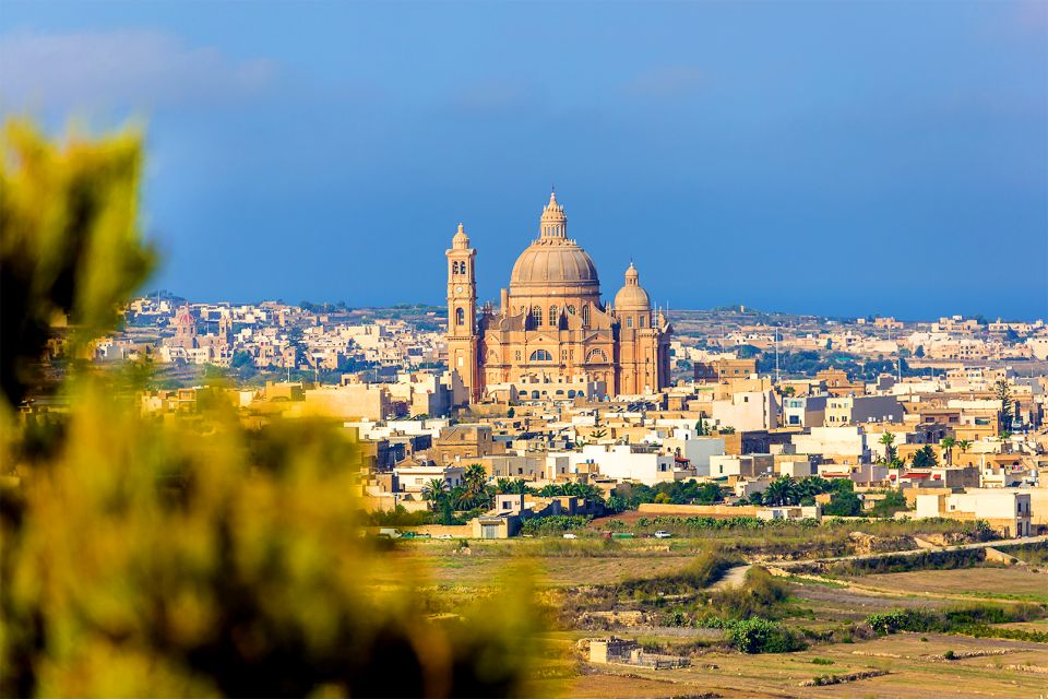 Ta'Pinu Basilica, Gozo, The Island of Gozo, Landscapes, Malta