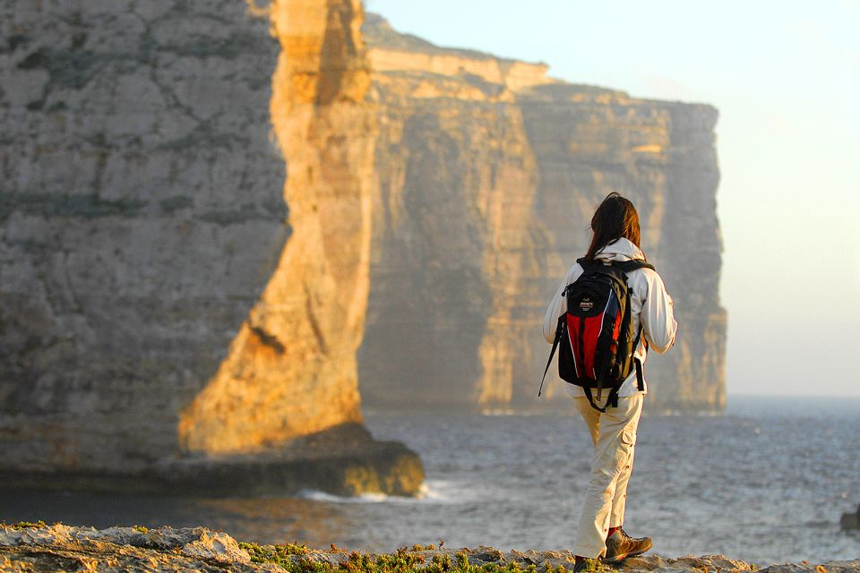 Hiking, The Island of Gozo, Landscapes, Malta