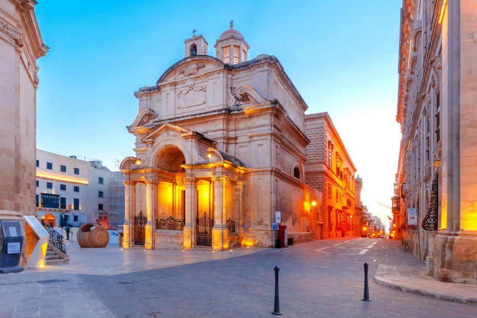 Les arts et la culture, La valette, malte, île, europe, méditerranée, baroque, art, architecture, sainte-catherine d'alexandrie, église