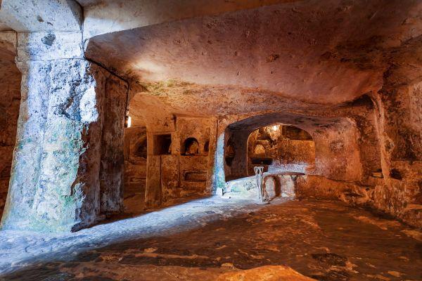 Los vestigios romanos , Malta