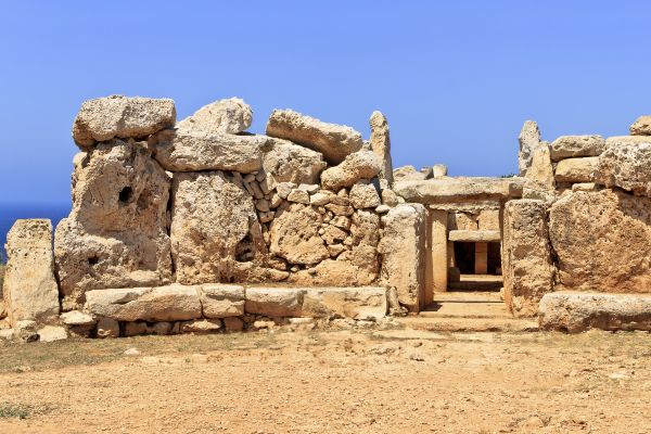 The Megalithic temples , Megalithic temples , Malta