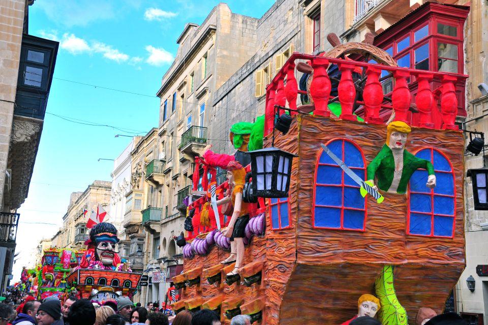 La religiosità, Malta, Le feste, Le arti e la cultura, Malta