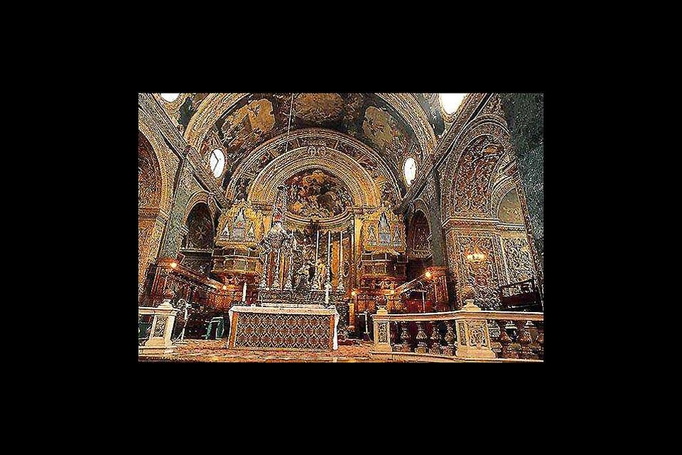 Saint John cathedral , St. John's Co-Cathedral, La Vallette , Malta