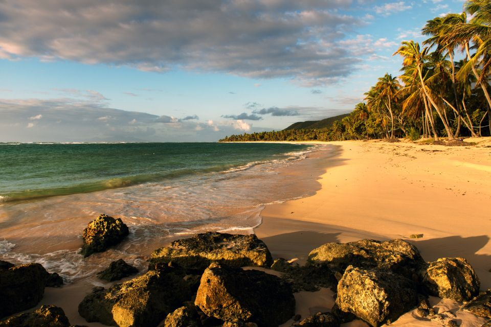 The lagoon, Feuillere beach, Coasts, Marie-Galante