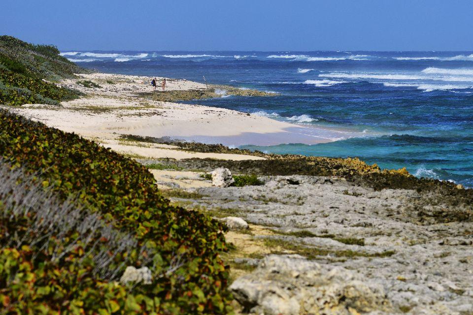 Le nord de l'île , Les îles de Guadeloupe