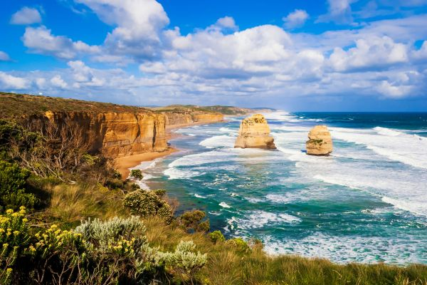 La Great Ocean Road, La Great Ocean Road (costa meridionale), Le rive, Melbourne, Australia