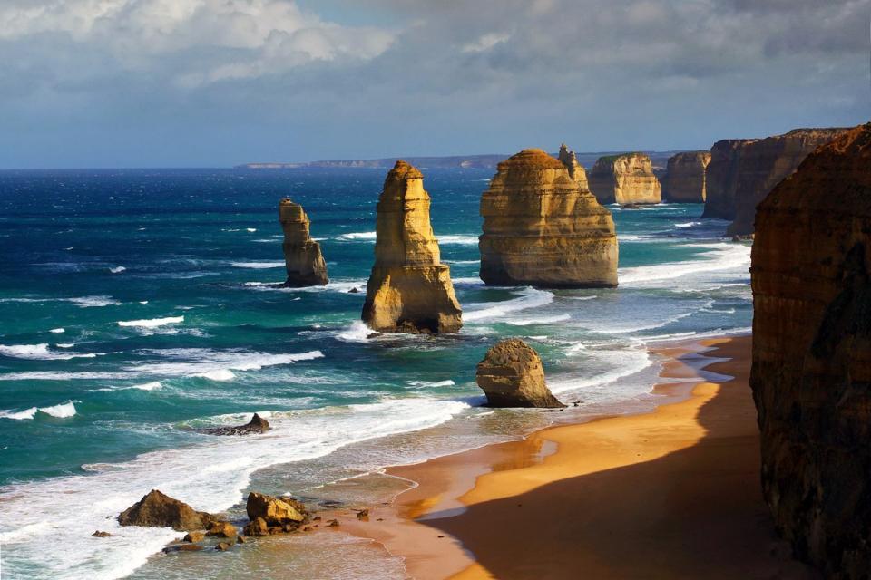 La Great Ocean Road (côte Sud) , Les douze apôtres , Australie
