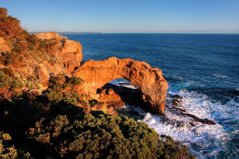 La Great Ocean Road (côte Sud) , Le London Bridge , Australie
