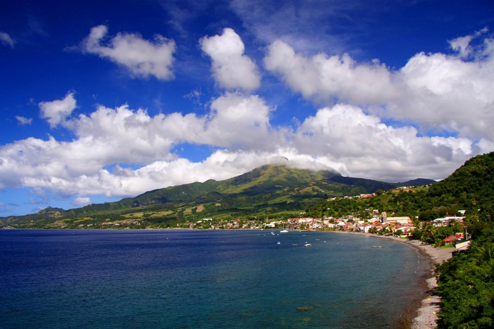 , La montagne Pelée, I paesaggi, Fort-de-France, Martinica
