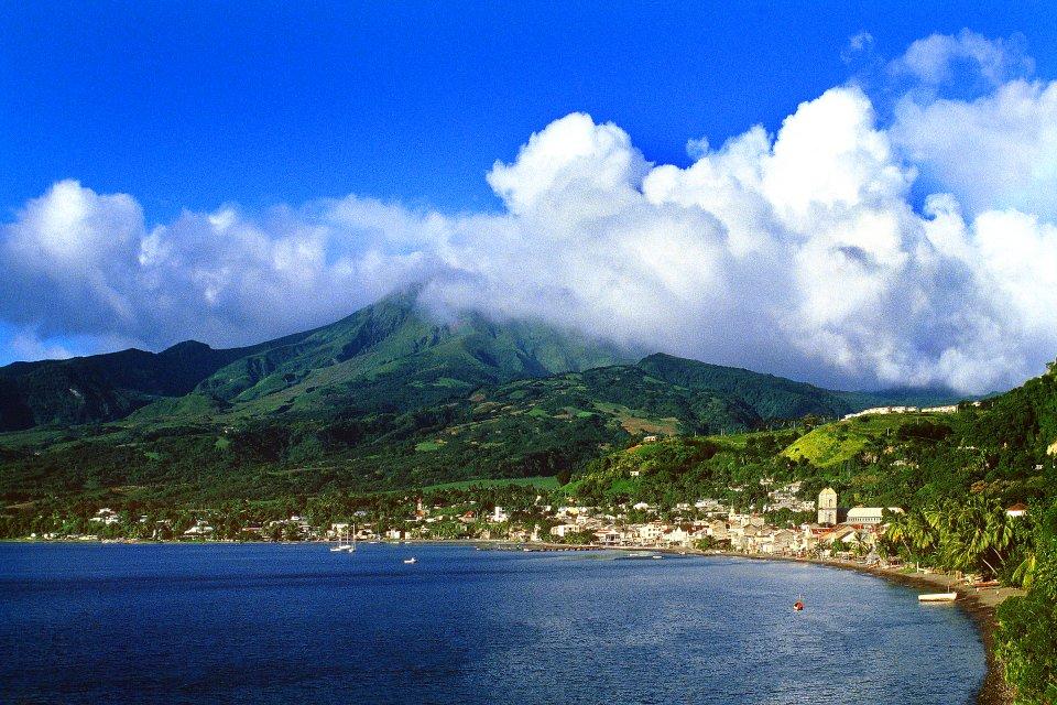 La montagne Pelée , La montagne Pelée et Saint-Pierre , Martinique