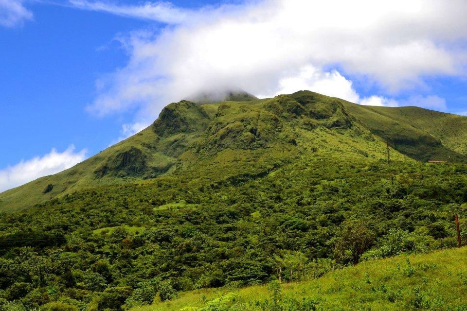 Jungle et volcans , Martinique