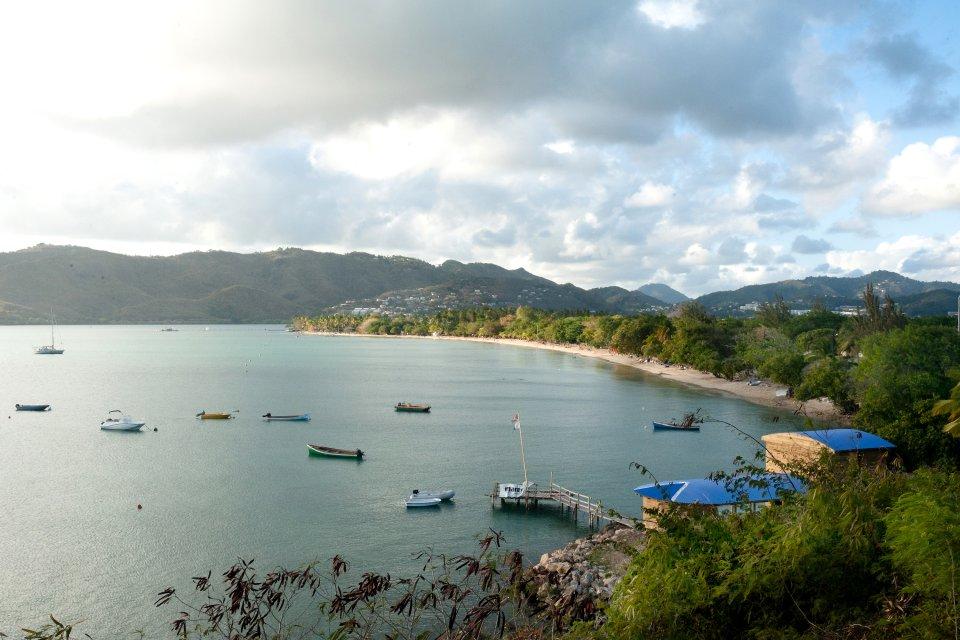 La plage de Sainte-Anne , L'anse Caritan , Martinique