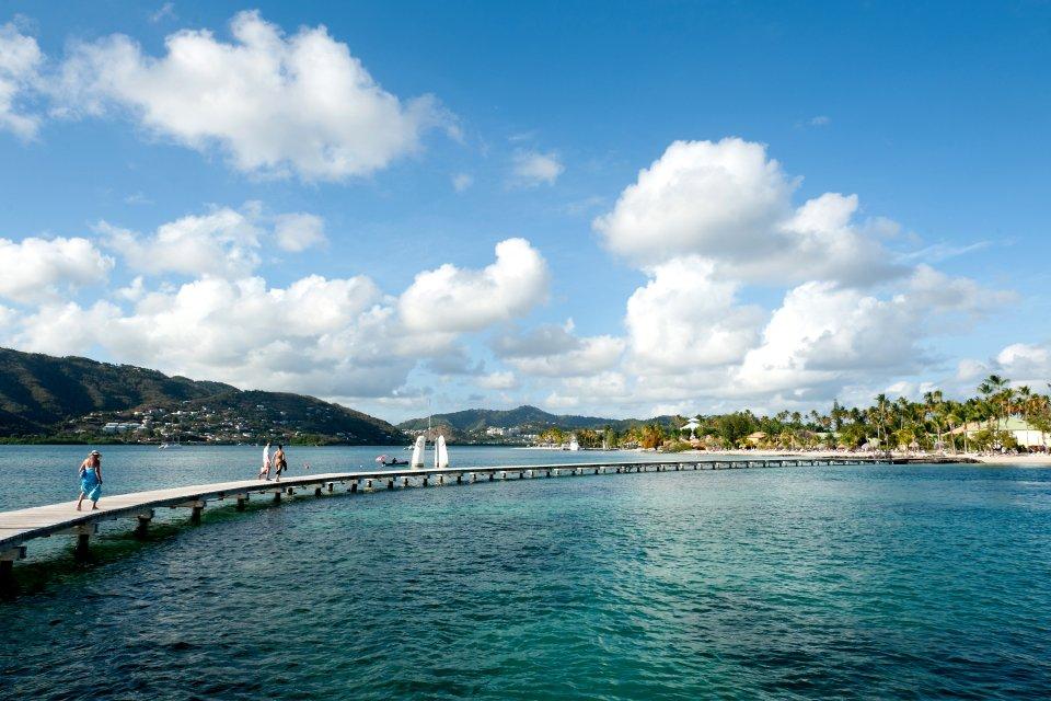 La plage de Sainte-Anne , Kayak en Martinique , Martinique