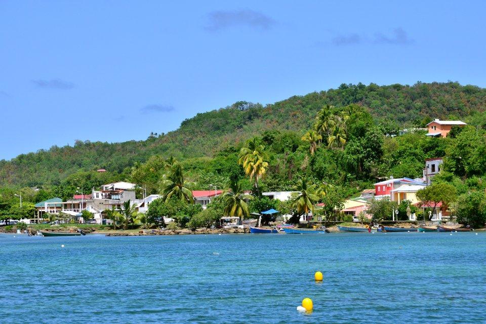 La presqu'île de la Caravelle , La Trinité et Tartane , Martinique
