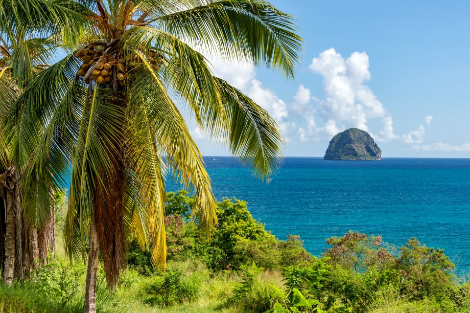 Le Rocher du Diamant , Martinique