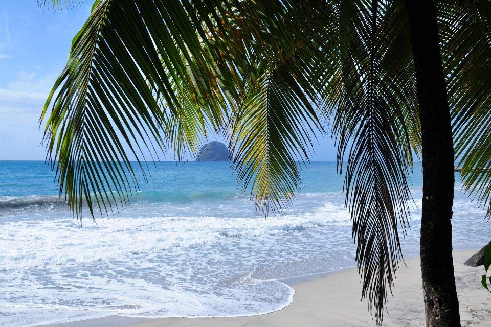 Le Rocher du Diamant , Panorama sur le Rocher du Diamant , Martinique