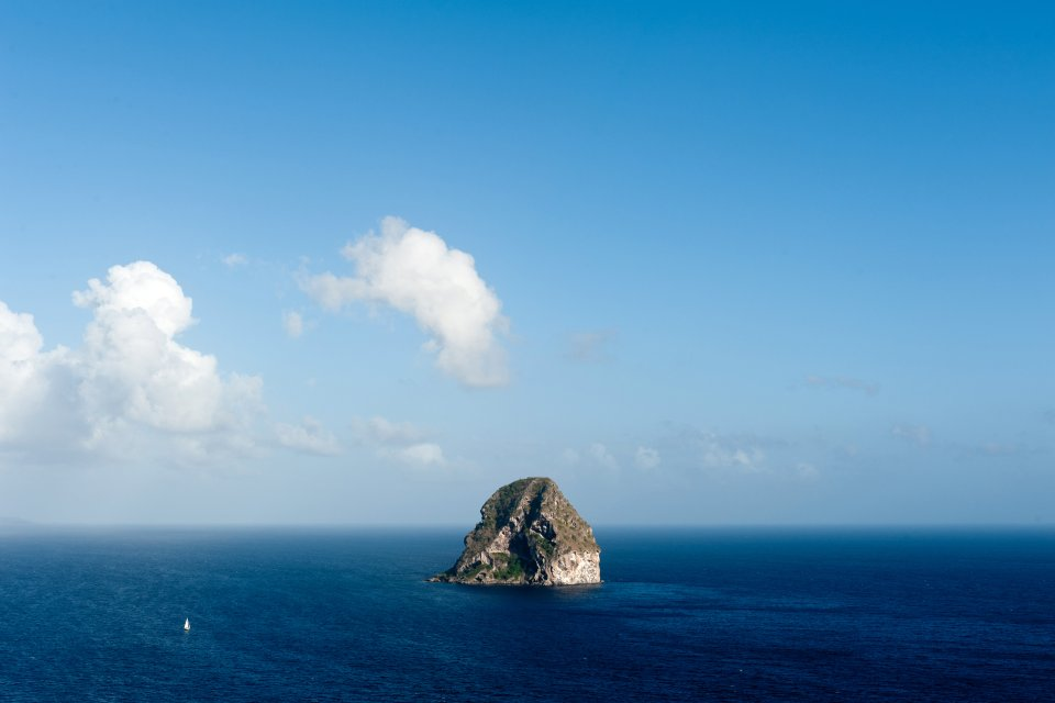 Le Rocher du Diamant , Régate en Martinique , Martinique