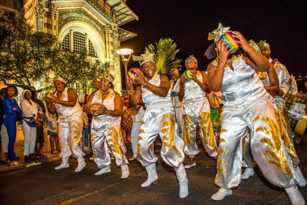 "Die ""Steel-Bands"" , Der Karneval von Martinique , Martinique"