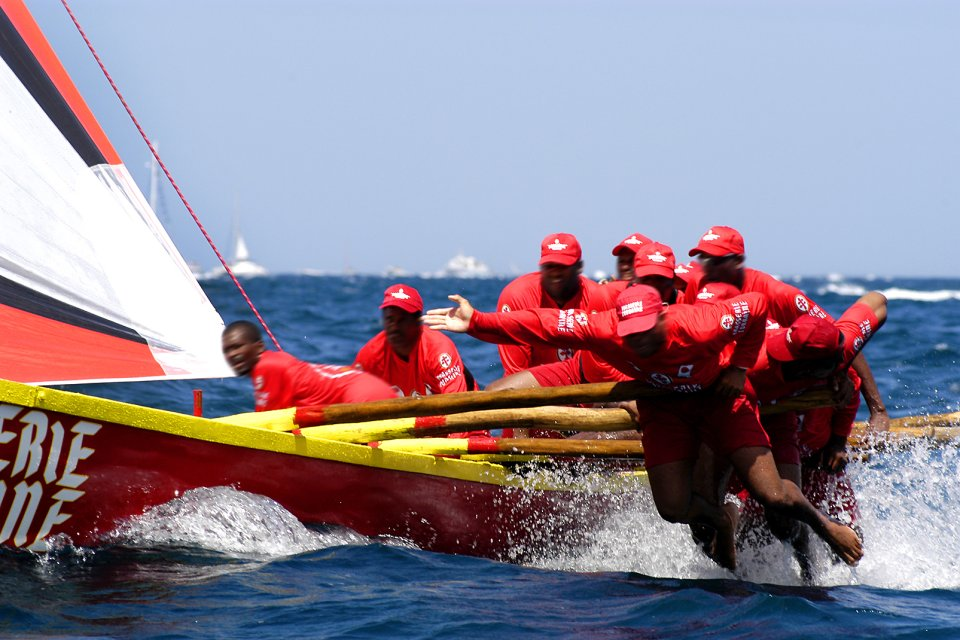 Les courses de Yole , La Yole, un bateau sportif , Martinique