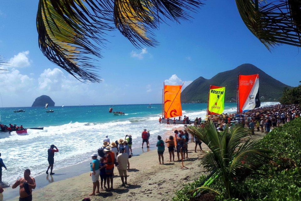 Les courses de Yole , Les Yoles, un vrai spectacle , Martinique