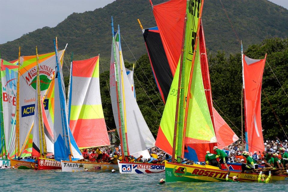 Les courses de Yole , Le Tour de la Martinique , Martinique