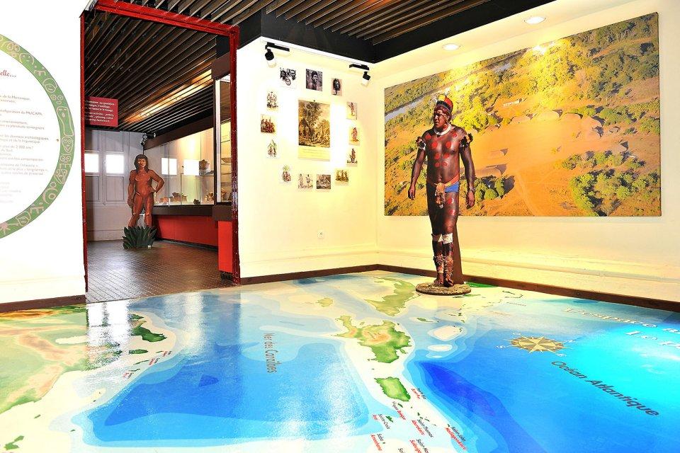 Le musée départemental d'Archéologie et de Préhistoire , Martinique