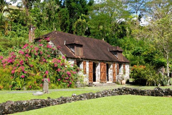 La Pagerie , Die Pagerie in Trois-Ilets , Martinique