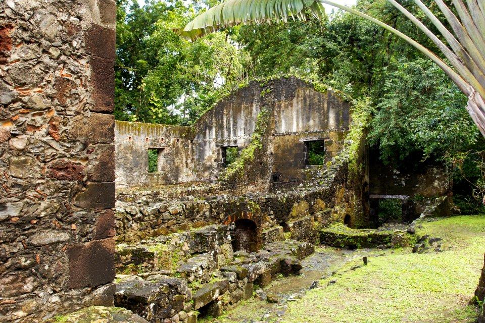 Les monuments, martinique, dom-tom, antilles, caraibes, outre-mer, musee, pagerie, ruines, trois-ilets