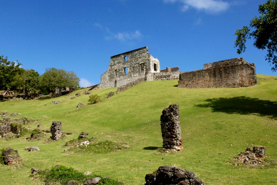 Le château Dubuc , Martinique