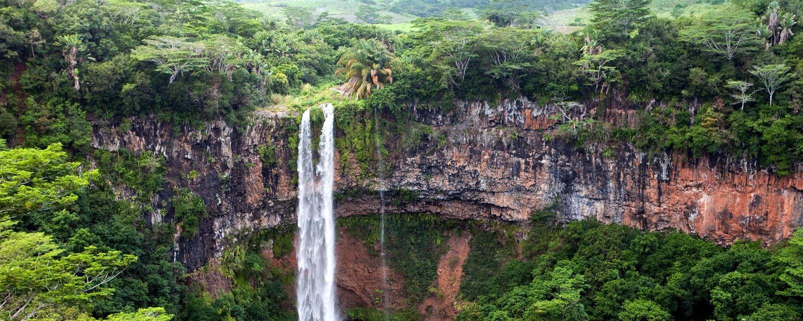 Las tierras de Chamarel, Las tierras de colores, Los paisajes, Flic En Flac, Isla Mauricio