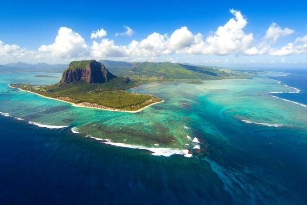 Les paysages, maurice, île, océan indien, afrique, montagne, pic, relief