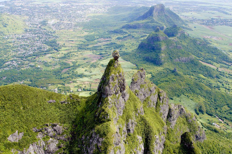 The central plateau, Mauritius, Mountains, Landscapes, Mauritius