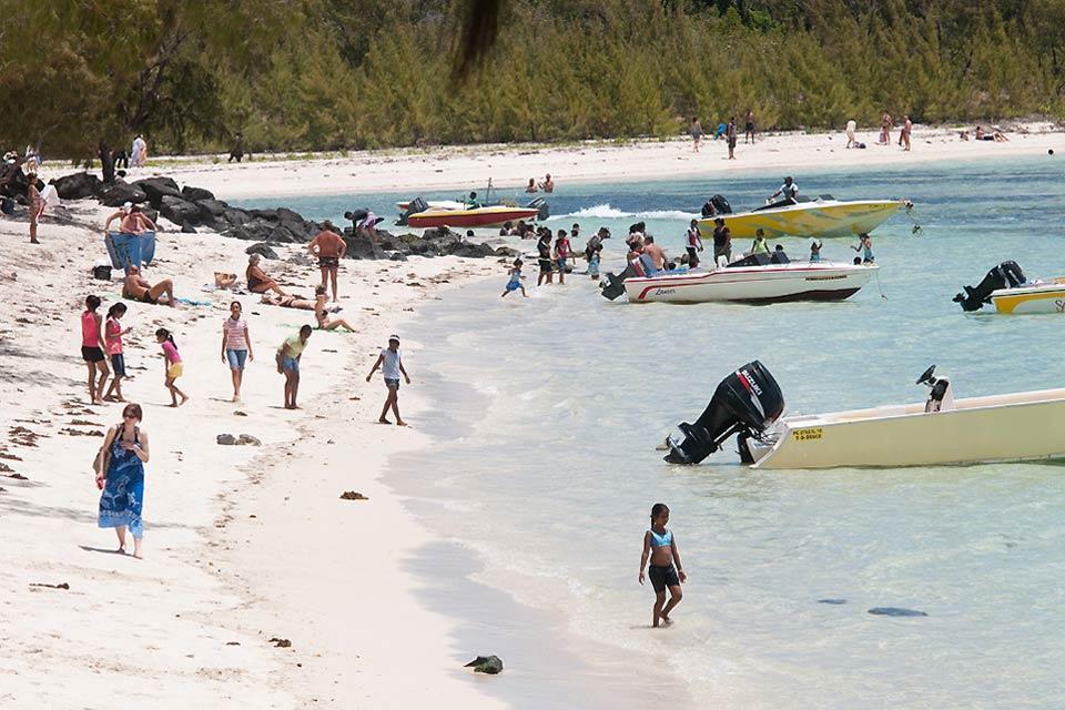 The beaches , Mont Choisy, Mauritius , Mauritius