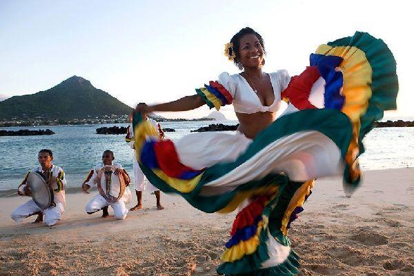 La <EM>séga</EM> , La séga , Isla Mauricio