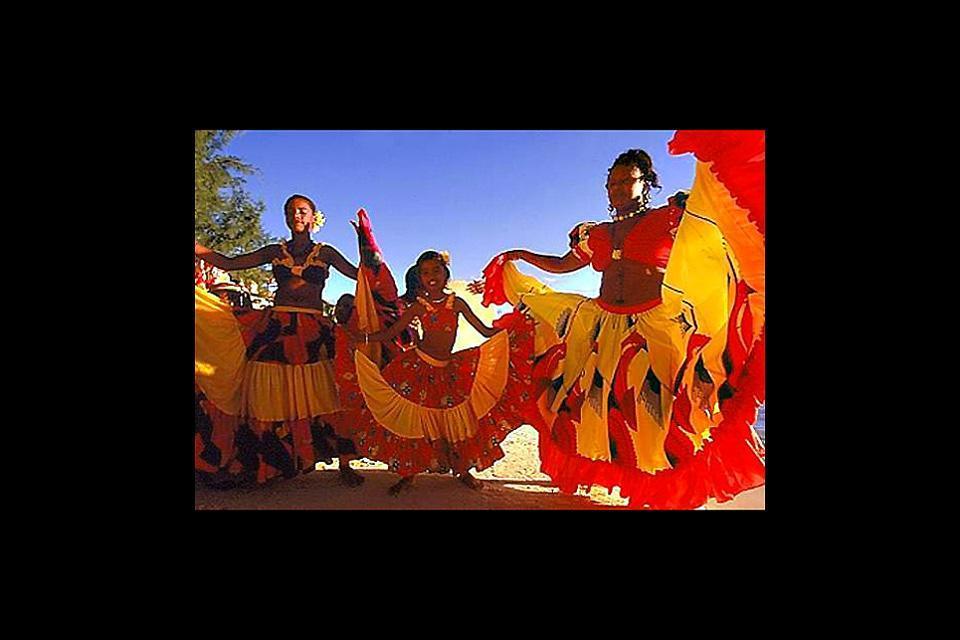 Sega dancing , Sega dancing, Mauritius , Mauritius